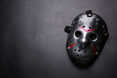 Free Hockey Mask Of Serial Killer Isolated On Black Royalty Free Stock Photos - 87701408