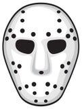 Hockey mask. White hockey mask, security mask Royalty Free Stock Image