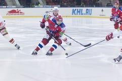 Hockey match Stock Photo