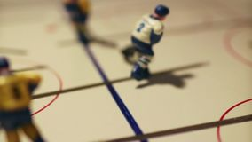 Hockey match sequence. Ice hockey match  sequence  table game stock video