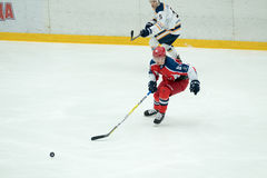 Hockey match in Vityaz Ice Palace Royalty Free Stock Photo