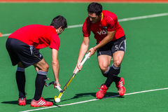 Hockey Mens Argentina Plays South Africa Stock Photos
