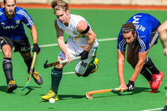 Hockey Mens Argentina Plays South Africa Royalty Free Stock Images