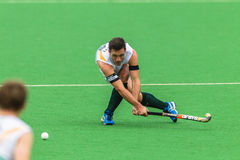 Hockey Mens Argentina Plays South Africa Royalty Free Stock Photography