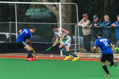 Hockey Mens Argentina Plays South Africa Stock Images