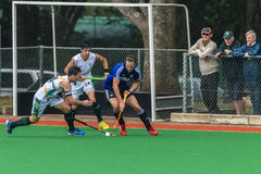 Hockey Mens Argentina Plays South Africa Royalty Free Stock Photos