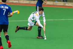 Hockey Mens Argentina Plays South Africa Royalty Free Stock Image