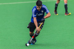 Hockey Mens Argentina Plays South Africa Royalty Free Stock Photo