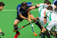 Hockey Mens Argentina Plays South Africa Stock Image