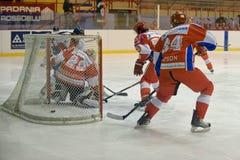 Hockey Milano Rossoblu Stock Photography