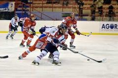Hockey Milano Rossoblu Royalty Free Stock Images