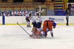 Hockey Milano Rossoblu Royalty Free Stock Photography