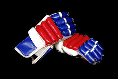 Hockey mitts Royalty Free Stock Photos