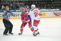 Hockey musketeers Stock Photo