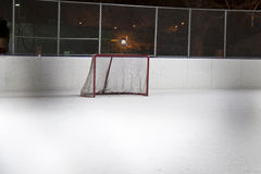 Hockey net Stock Photos