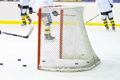 Hockey net Stock Photography