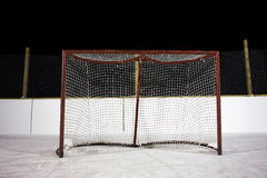 Hockey net Royalty Free Stock Photos