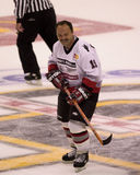 Hockey Pasillo de Famer Bryan Trottier Imagenes de archivo