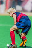 Hockey Play Action Male Royalty Free Stock Photo