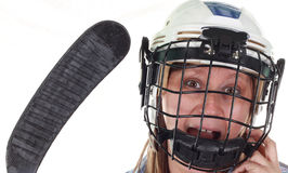 Hockey player Stock Images
