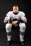 Hockey player Royalty Free Stock Photos