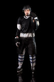 Hockey Player Royalty Free Stock Images
