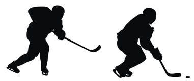Hockey player Stock Photography