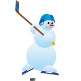 Hockey player-1 Stock Photo