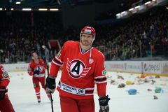 Hockey player Alexei Mikhnov Stock Images