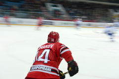Hockey player Alexei Simakov Stock Image