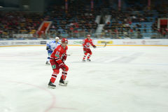Hockey player Jakub Petruzhalek Stock Photography