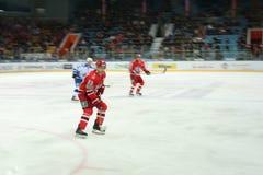 Hockey player Jakub Petruzhalek Stock Photography