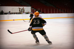 Hockey player Royalty Free Stock Photography