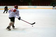 Hockey player Stock Image