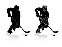 Hockey player Royalty Free Stock Photo