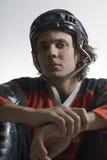 Hockey Player - Vertical Royalty Free Stock Photos