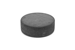 Hockey puck Royalty Free Stock Photography