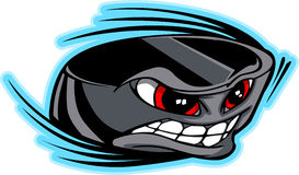 Hockey Puck Face Vector Image Stock Images