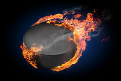 Burning objects and objects on fire background Stock Images