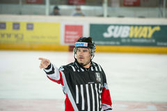 Hockey referee Stock Images