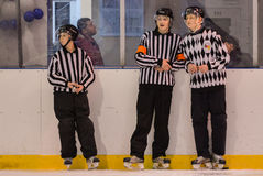 Hockey referee Stock Photo