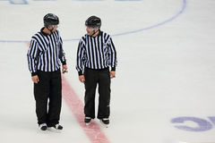 Hockey referees Royalty Free Stock Image