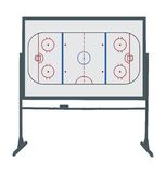 Hockey ring board Royalty Free Stock Images