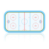Hockey Rink. Vector illustration of Hockey Rink Stock Photo