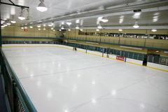 Hockey Rink Royalty Free Stock Photos