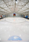 Hockey rink Royalty Free Stock Images