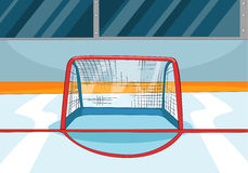 Hockey Rink Royalty Free Stock Image