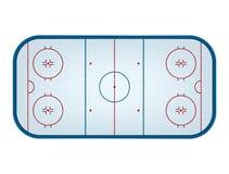 Hockey rink Royalty Free Stock Image
