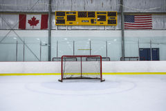 Hockey Rink Stock Image