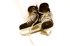 Hockey Skates Royalty Free Stock Photography